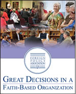 Great Decisions in faith based organizations