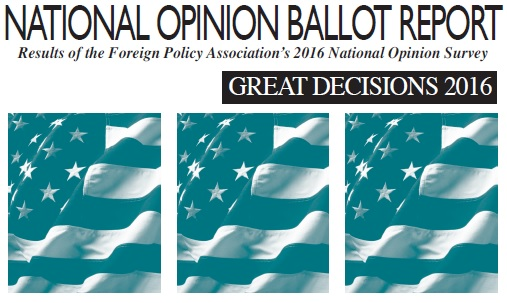 National Opinion Ballot Report 2016